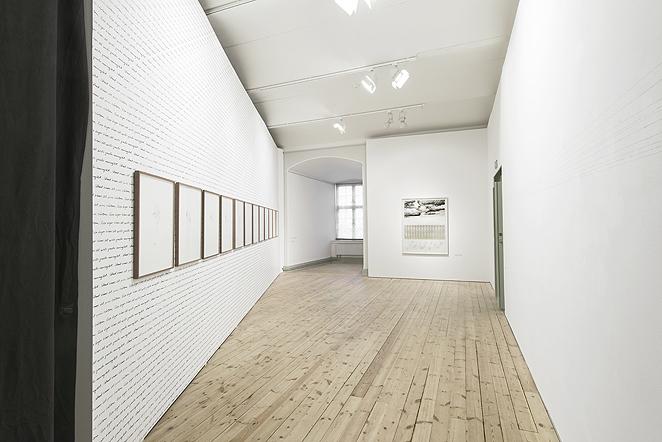 Installationsvy Uppsala Konstmuseum. Foto Stephen Quigley.
